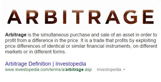 Arbitrage - Retail And Online Arbitrage - TaughtToProfit.com