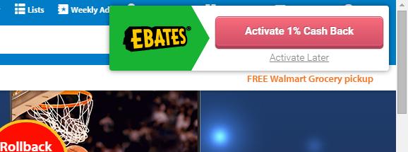 Ebates Walmart Activate Cash Back - TaughtToProfit.com