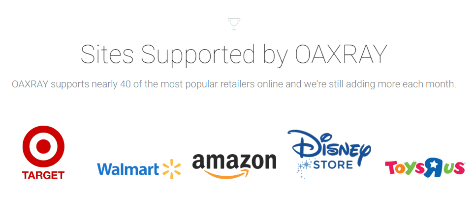 OAXray Supports Over 50 Sites - TaughtToProfit.com