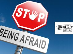 Stop Being Afraid And Take Action Now!