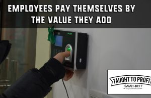 Employees Are Not Paid By Their Employer, Rather By The Value They Add To The Company