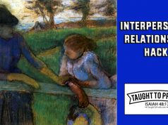 Interpersonal Relationship Hack