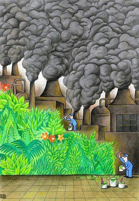 Painting Over The Effects Of Pollution