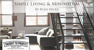 Simple Living And Minimalism