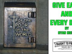 Give Each And Every Day! By Ryan Hicks, TaughtToProfit