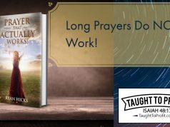 Long Prayers Do Not Work!