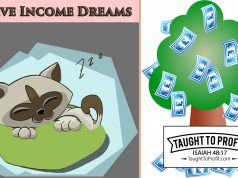 Do Not Fall For Passive Income Dreams And Schemes!