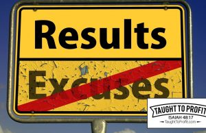 Stop Making Excuses And Start Taking Action!