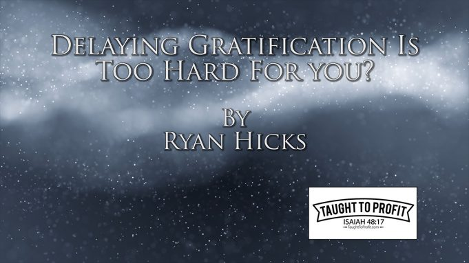 Delaying Gratification Is Too Hard For You? Try This Instead!