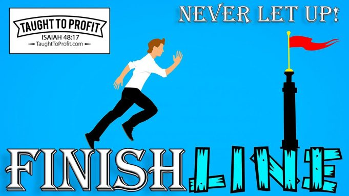 Never Let Up! Continue Doing The Things That Brought Success!