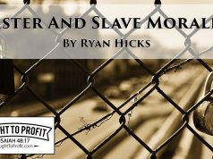 Master And Slave Morality Of Nietzsche - Neither Is Christian Morality!