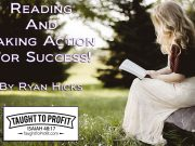Reading And Taking Action For Success!